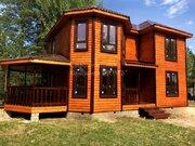 Отличный новый дом, ПМЖ, газ, река, сосны - Фото 1