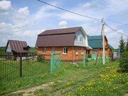 ПМЖ. Недорого кирпичный двухэтажный Дом в Подмосковье. Деревня ерёмино - Фото 1