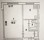 Продается однокомнатная квартира в Выхино, 10 минут от метро пешком, Купить квартиру в Москве по недорогой цене, ID объекта - 325194926 - Фото 14