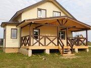 Дом из бруса с отделкой и коммуникациями в 85 км от МКАД Тишнево - Фото 1