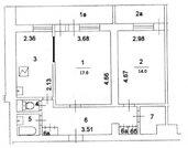 Продаётся 2-комнатная квартира по адресу Ясногорская 21к2 - Фото 3