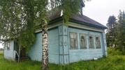 Брусовой дом в жилой деревне