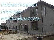 Новый коттедж 200 м2 на участке 6 сот. на берегу р.Клязьма