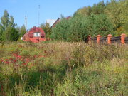 Участок 10 соток на второй линии реки Москва, д.Сонино Рузского района - Фото 1