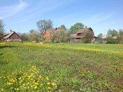 Большой участок в деревне рядом с Волгой - Фото 1