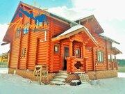 Бревенчатый дом на границе Новой Москвы в поселке Лазурный берег. - Фото 2