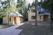 Новый коттедж и баня в лесу, Минское шоссе, КИЗ Зеленая роща, охрана - Фото 1
