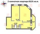 Продается квартира в новостройке, г. Щелково, улица Краснознаменская - Фото 1