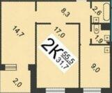 Продается 2-комнатная квартира ул. Карла Маркса, Мкр. Мещерское озеро, Купить квартиру в Нижнем Новгороде по недорогой цене, ID объекта - 317026395 - Фото 11