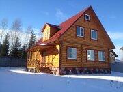 Новый дом из бревна 200 м2, в 1 км от Истры