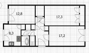 Продажа просторной 3-х комнатной квартиры за малую цену - Фото 3