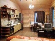 Красивый бревенчатый дом под ключ с баней газ есть - Фото 5