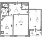 4 100 000 Руб., 2-х комнатная квартира на ул.Горная Приокский район, Купить квартиру в Нижнем Новгороде по недорогой цене, ID объекта - 321582743 - Фото 10