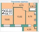 Продам 2-комнатную квартиру в Рязани в новом доме - Фото 2