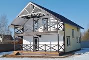 Дом для ПМЖ в деревне Воробьи, 150 м2, 10 соток, Киевское шоссе. - Фото 3