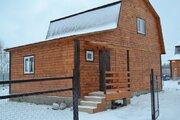 Дом ПМЖ 80 кв м на участке 7.5 соток село Никитское без отопления - Фото 3
