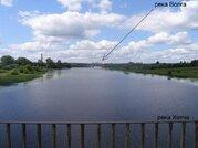 Участок 15 соток на реке Хотча (через 800 метров впадает в р. Волга)