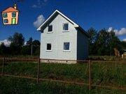 Дом из бруса 85 м2 в деревне Большое Толбино Подольского района МО