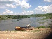 Просторный участок на берегу реки в месте полностью пригодном для пост - Фото 1
