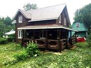 Дача из бревна в СНТ Живописный у д. Ревякино
