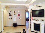 Трехкомнатная квартира с дизайнерским ремонтом и мебелью