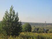 Земельный участок с панорамным видом на реке Ока д. Тульчино 25 соток - Фото 2