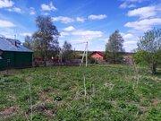 Участок для ПМЖ. 15 соток в жилой деревне, в ближнем Подмосковье - Фото 1