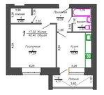 1 комнатная квартира ул.Гагарина - Фото 4