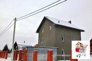 Трёхэтажный дом 190 кв.м. с террасой на участке 8 соток в деревне Поли - Фото 1