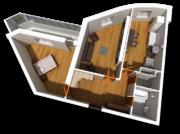 Продается 2 ком. кв, новый дом, Ступино, собственность, с отделкой - Фото 5