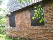 Земельный участок 9,7 сот с домиком 40кв.м, д.Аладьино, Каширский . - Фото 1