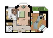 2 комнатная квартира ул. 2-я Комсомольская дом 16 - Фото 2