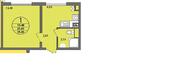 Продается 1-комн. квартира 37,41 кв.м. в Нахабино Ясное - Фото 2