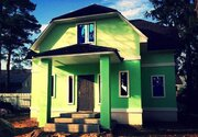 Новый Дом-дача, все условия для ПМЖ. 40км от МКАД Горьковское шоссе - Фото 1