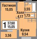 Квартира в ЖК «Татьянин Парк» Новая Москва - Фото 4