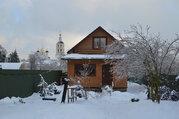 Пафнутьево-Боровский монастырь. Жилой дом из бревна на участке 15 сот - Фото 1