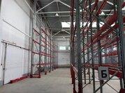 Под склад, селлажи, теплый, выс. потолка: 12 м, пол антипыль, огорож.