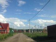 Земельный участок (с электричеством) в Чеховском районе, д. Бершово - Фото 1