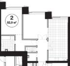 2-к кв. 83 м2. Дом премиум-класса на Ленинском проспекте, Москва, ЮЗАО - Фото 1