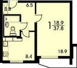 1 комнатная Балашиха 22 мкр - Фото 3