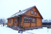 Отличный уютный дом с камином, свой участок 10 соток. Деревня. - Фото 1