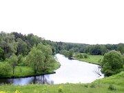 Участок 20 сот. вдоль реки, 30 км Калужского ш, Новая Москва - Фото 1