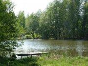Участок 9 соток возле леса и воды 52 км от МКАД в красивом месте - Фото 1