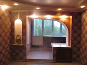 Улучшенная 3-к. квартира с лоджией в кирпичном доме на ул.Хрустальная. - Фото 1