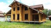 Загородный дом и баня из кедра ручной рубки, Минское шоссе, охрана - Фото 1
