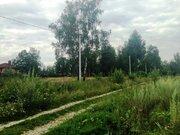 Земельный участок 25 соток д. Перхурово Чеховский район - Фото 4