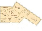 Купи 3 квартиру в ЖК Красково у надежного Застройщика по акции! - Фото 3