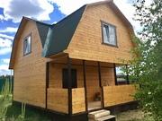Новый дом в СНТ Лесное - дер.Юрцово - 80 км Щёлковское шоссе - Фото 5