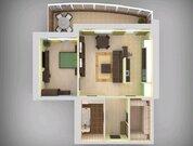 9 585 000 Руб., ЖК Татарстан продается двухкомнатная квартира Татарстан 14/59, Купить квартиру в Казани по недорогой цене, ID объекта - 321983295 - Фото 4
