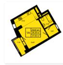 ЖК Манхэттен Оренбургский тракт продается однокомнатная квартира. - Фото 4